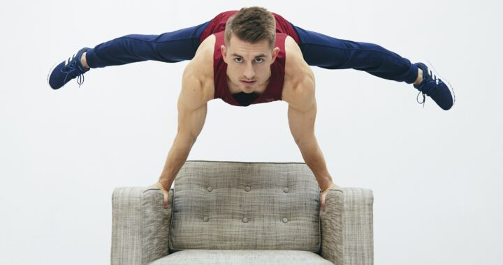 Tone Up At Home With Olympian Max Whitlock's Cushion Crusher Workout
