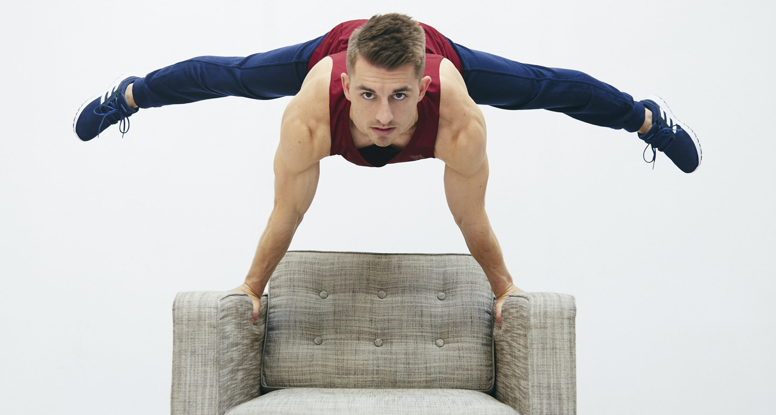 Tone Up At Home With Olympian Max Whitlock's Cushion ...