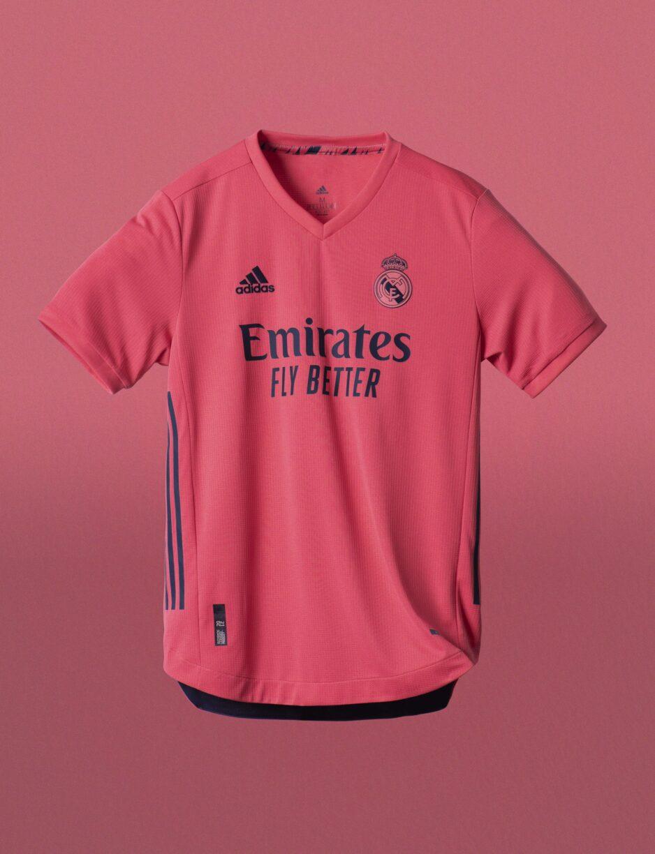 Real Madrid Home And Away Kits For 2020:21 Season1