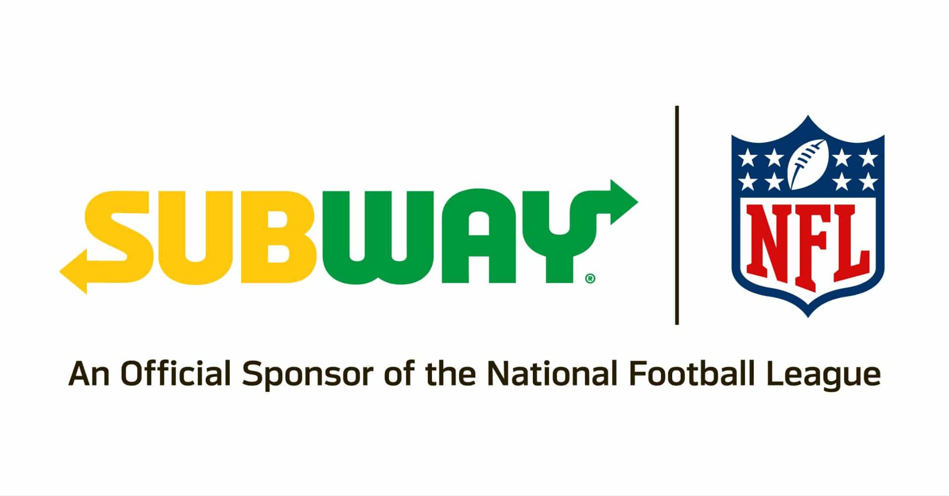 Subway sponsors of NFL