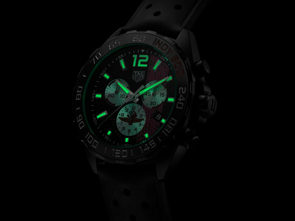 Tag Heuer Celebrates 104th Indianapolis 500 With 2020 Racing-inspired Limited Edition1