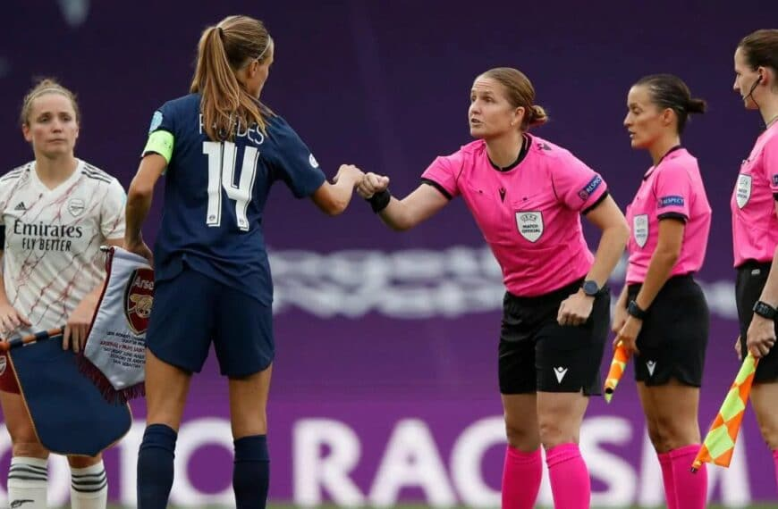 Referee Team Appointed For UEFA Women's Champions League Final In San Sebastián