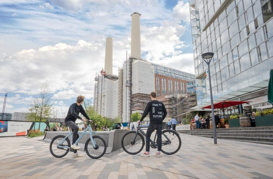 Ride The Future with VanMoof at Battersea Power Station