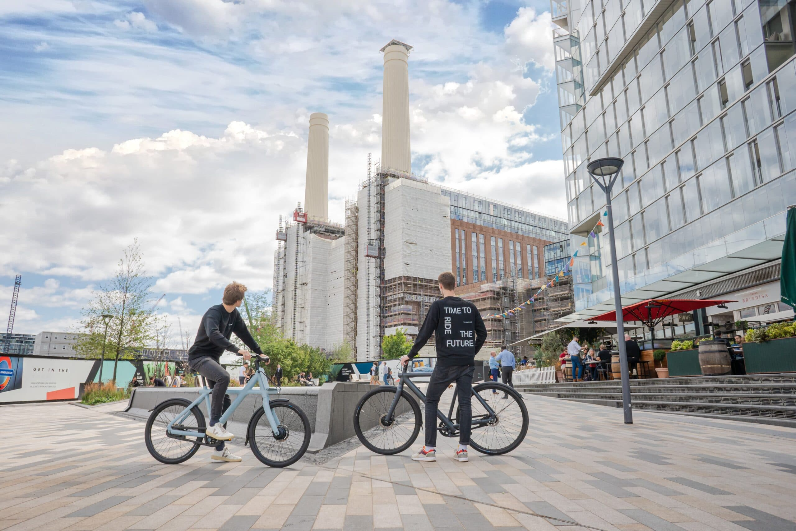 VanMoof at Battersea Power Station