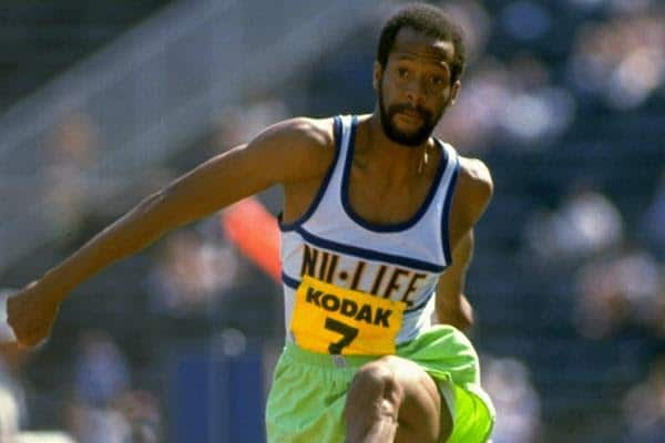 Willie Banks olympian triple jump world record