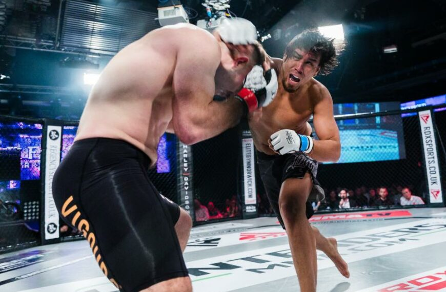 Norwich To See First MMA Show With Live Audience Since Covid-19 Restrictions