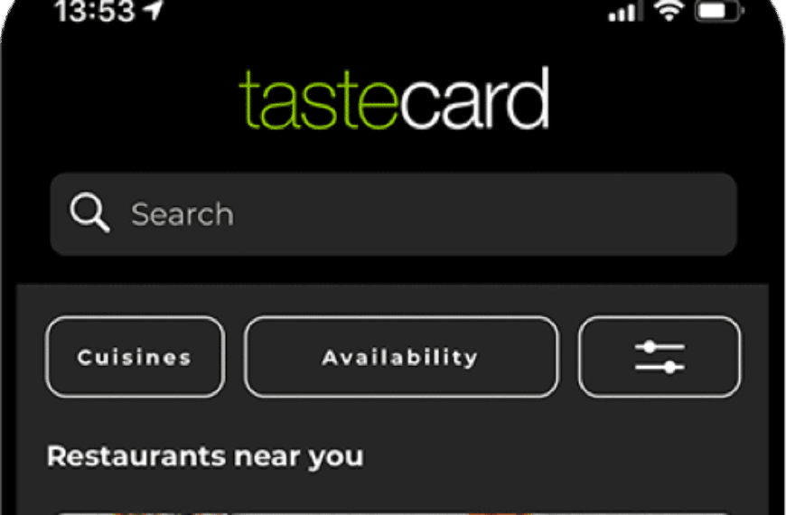 Tastecard Takes On Delivery Giants With Expansion Into Delivery and Collection