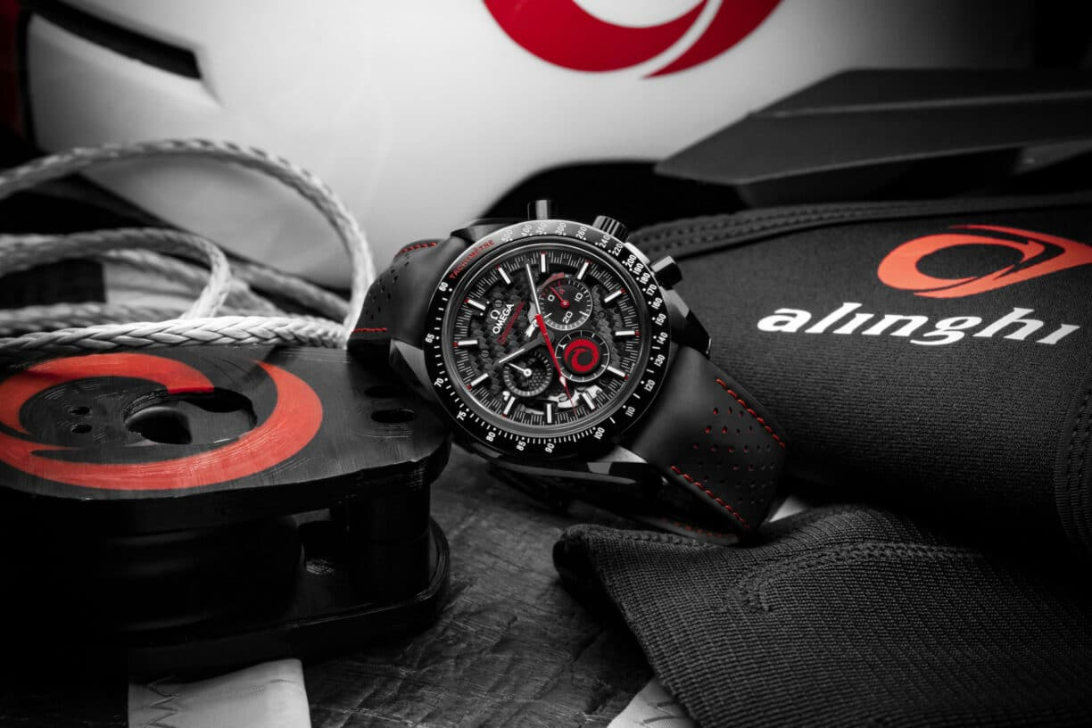OMEGA and ALINGHI Speedmaster