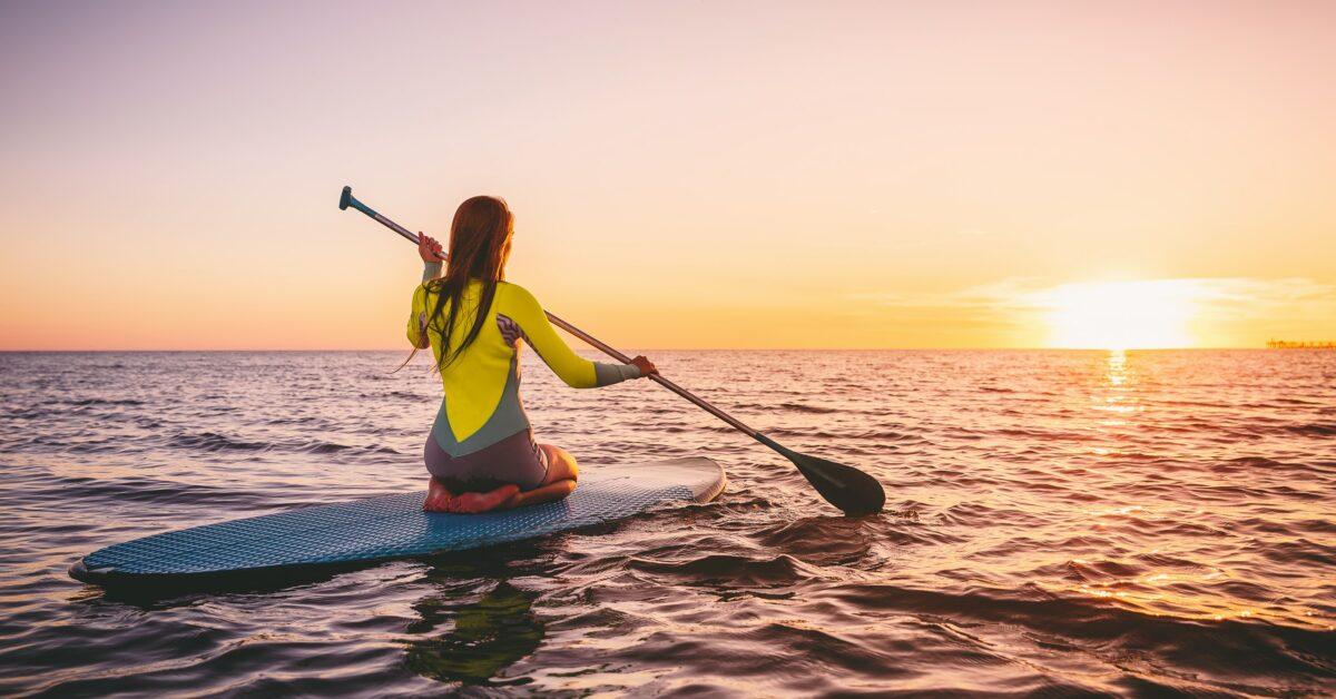 paddleboarding workout