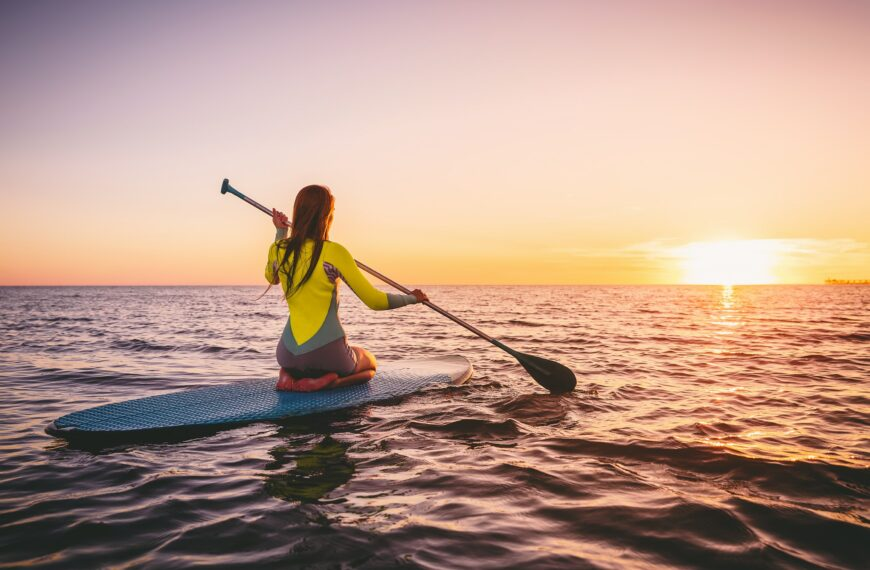 Why Stand-up Paddleboarding Is This Summer's Hottest Staycation Workout