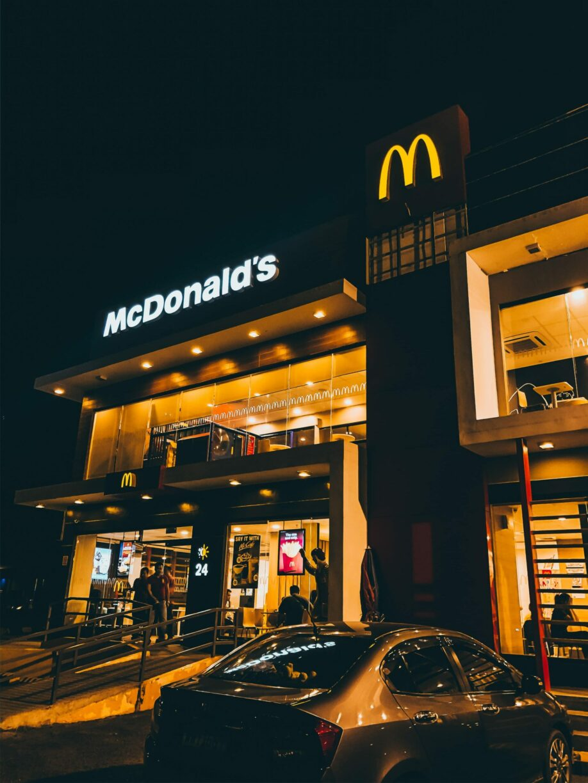 fast food calories mcdonalds