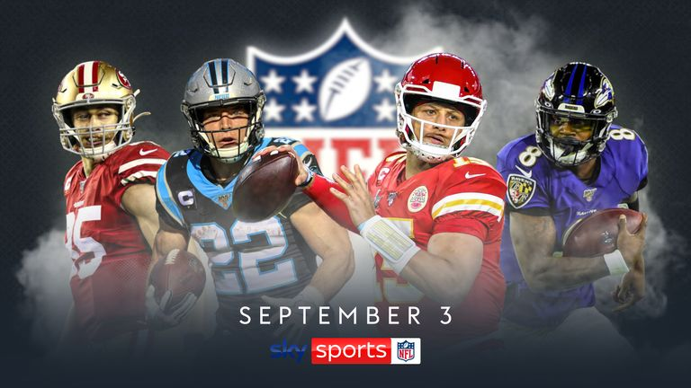 NFL and  SKY Sports Unveil 'Sky Sports NFL' Channel As Part Of Five-year Partnership