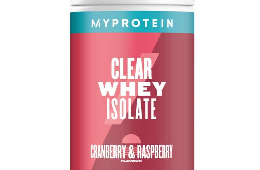 MyProtein Reveal Flavour Extension In World-first Clear Whey