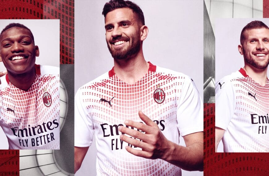 AC Milan Unveil The New Away Kit Inspired By The Mudec Museum