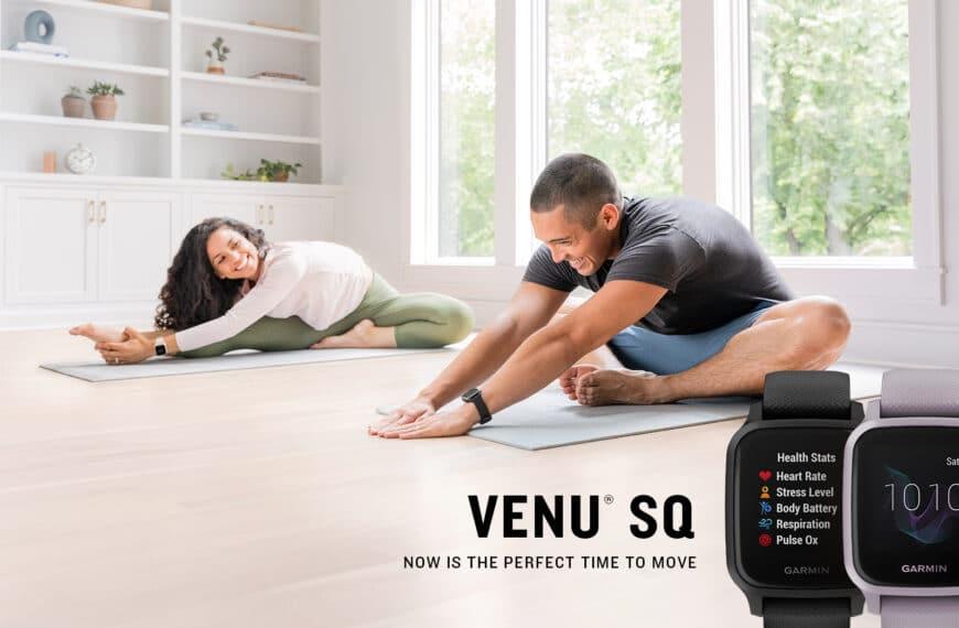 The New Garmin Venu SQ GPS Smartwatch Has Been Revealed