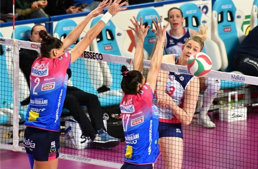 Full Steam Ahead For Italian Women's Volleyball League Relaunch