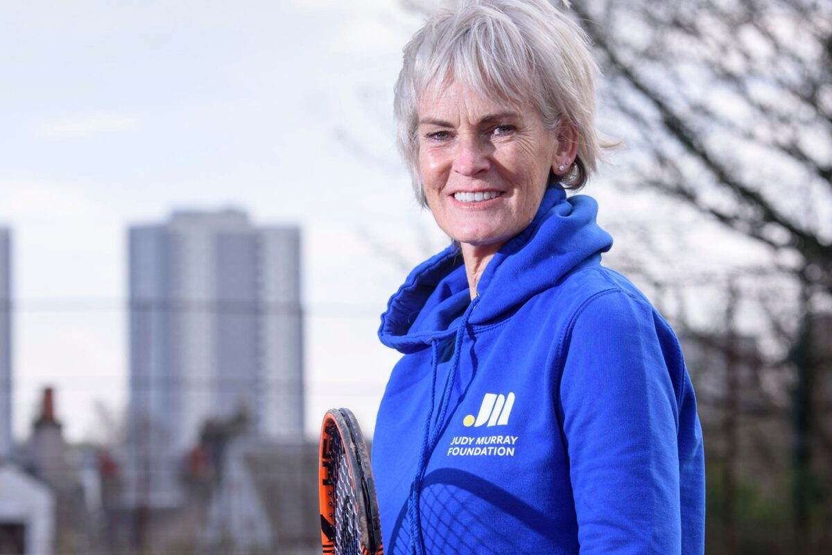 Judy Murray: 'Surround Yourself With People Who Make You Feel Good'