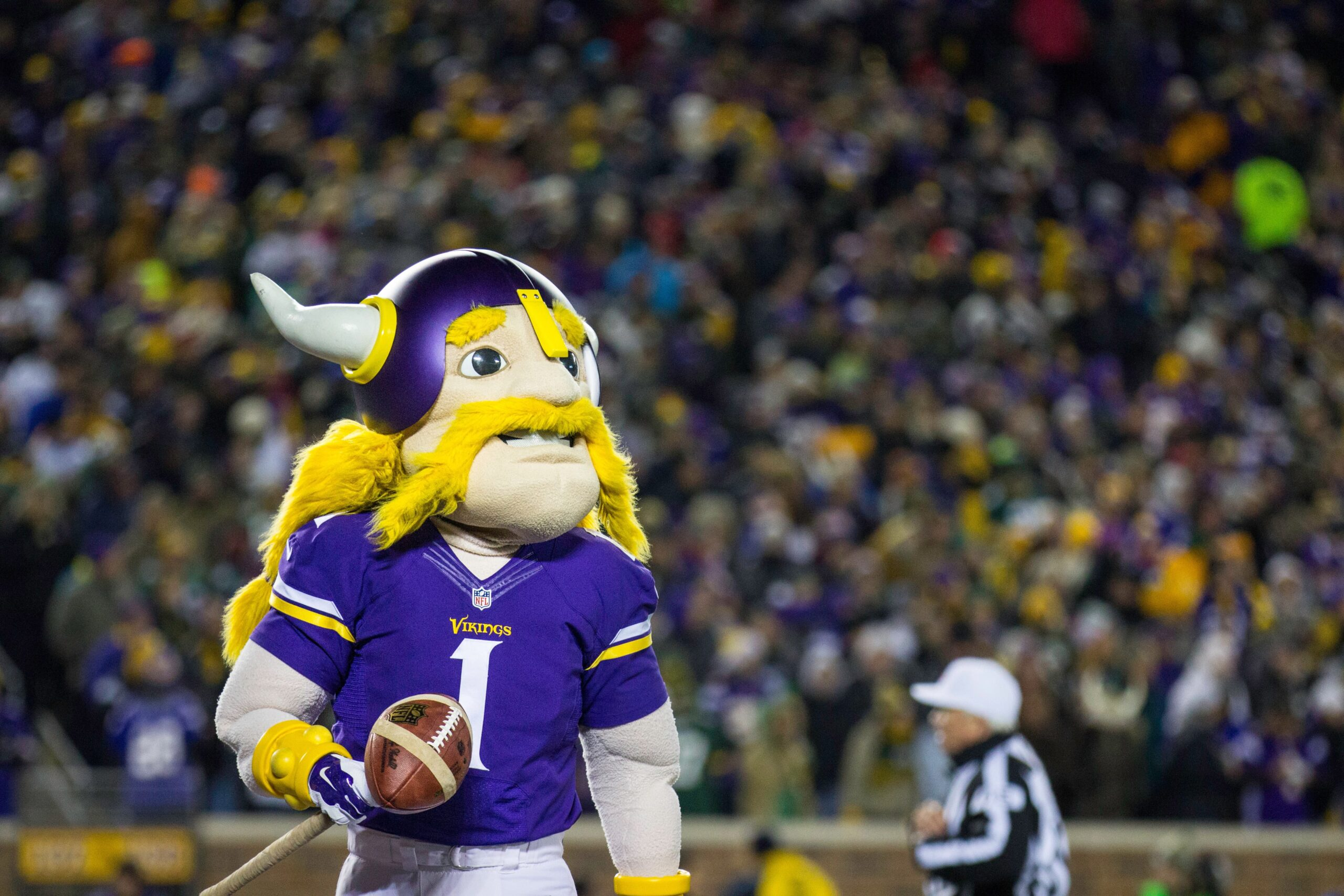 Minnesota Vikings Mascot scaled