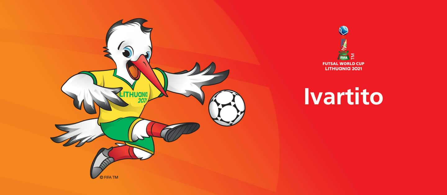 World Cup Lithuania 2021 Mascot