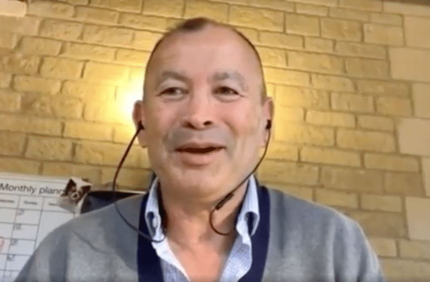 """Eddie Jones: """"I Want To See Rugby Being The Number One Sport In The World"""""""