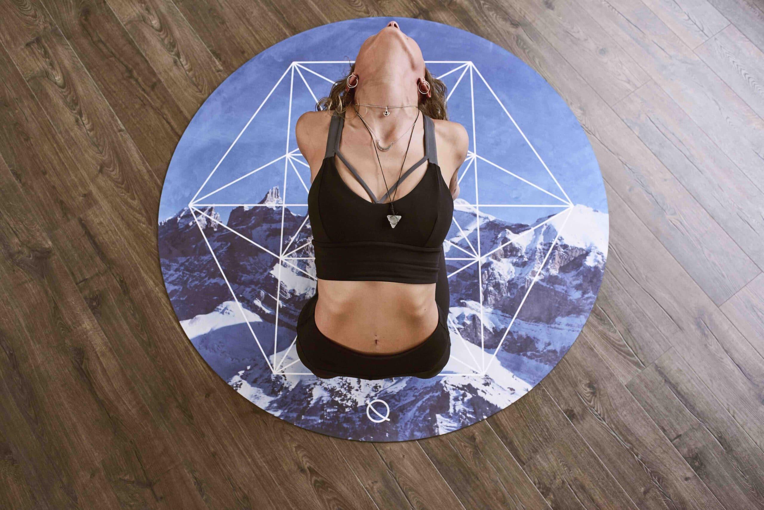 Carbon-Negative Kintsugi-Inspired Yoga Mats
