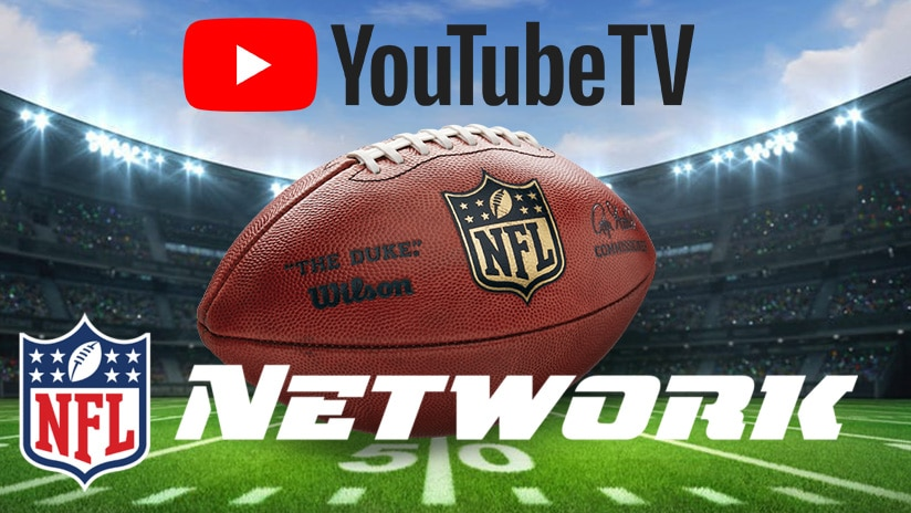 NFL Network and NFL RedZone Now Available on YouTube TV in Advance of 2020 NFL Season