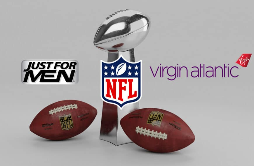 NFL Renews Multi-year Partnership With Just For Men and Virgin Atlantic