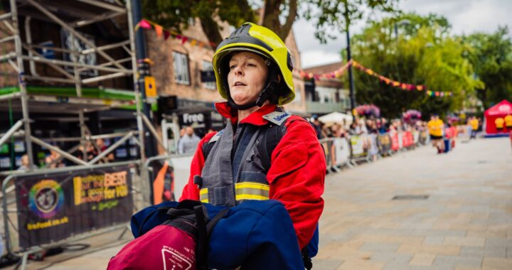 How One Firefighter Stays On Top Of Her Fitness Regime