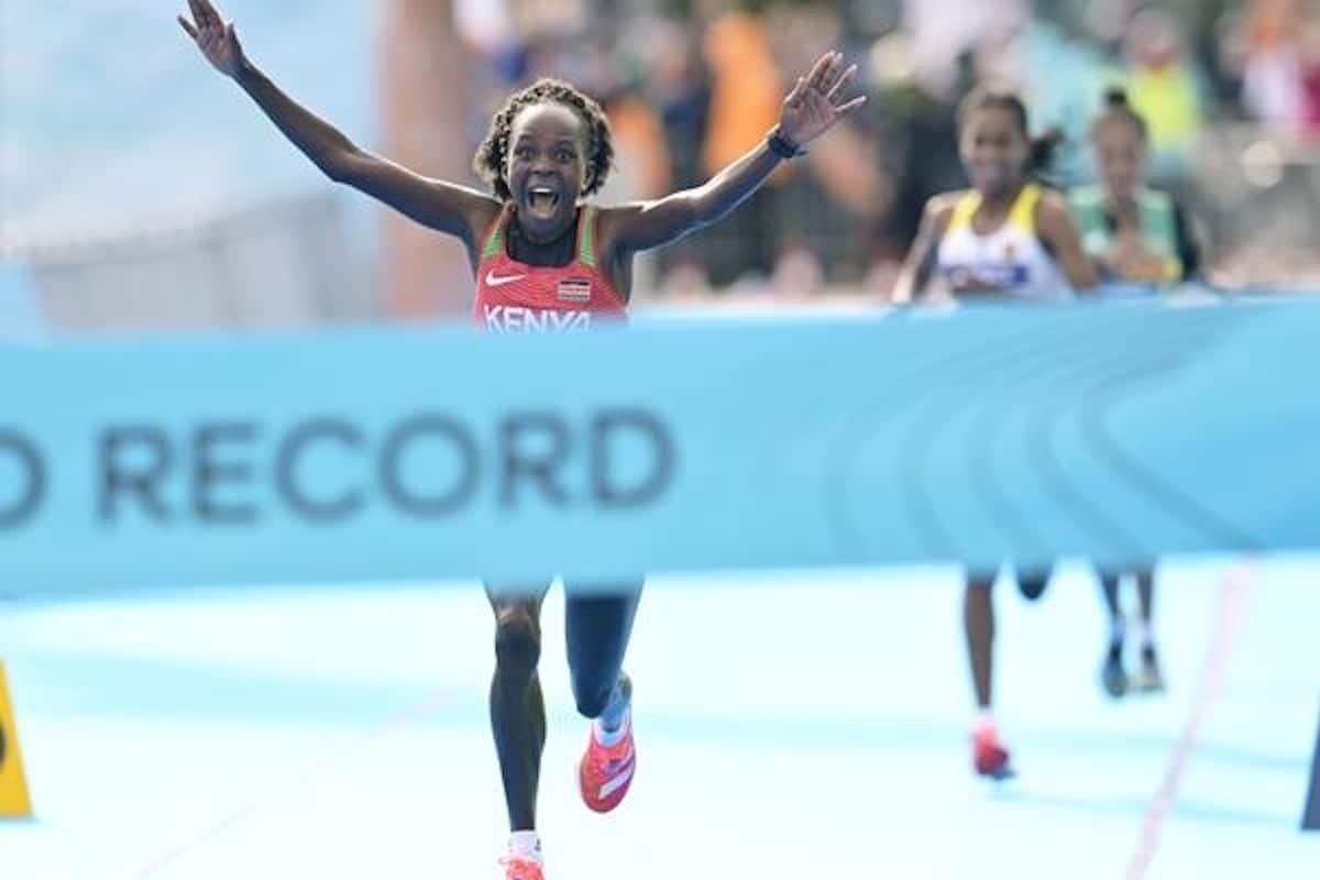 Jepchirchir Breaks Women-only World Record