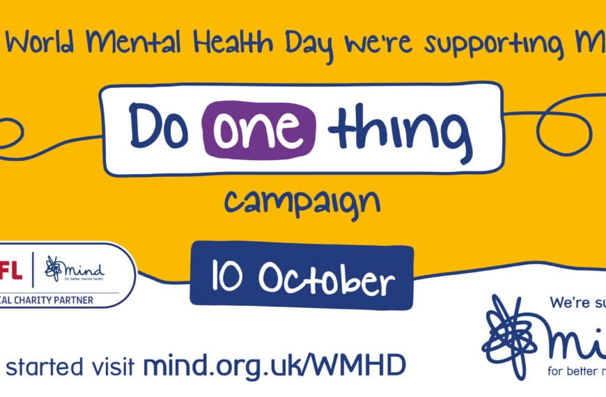 The EFL And Its Clubs Come Together With Charity Partner, Mind, To Collectively Mark World Mental Health Day