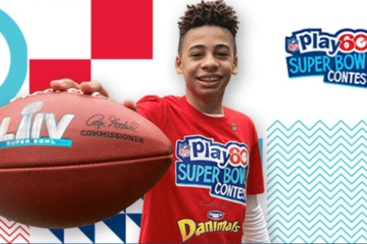 Many Will Enter, One Will Win The Opportunity To Become The NFL Play 60 Super Kid For Super Bowl LV