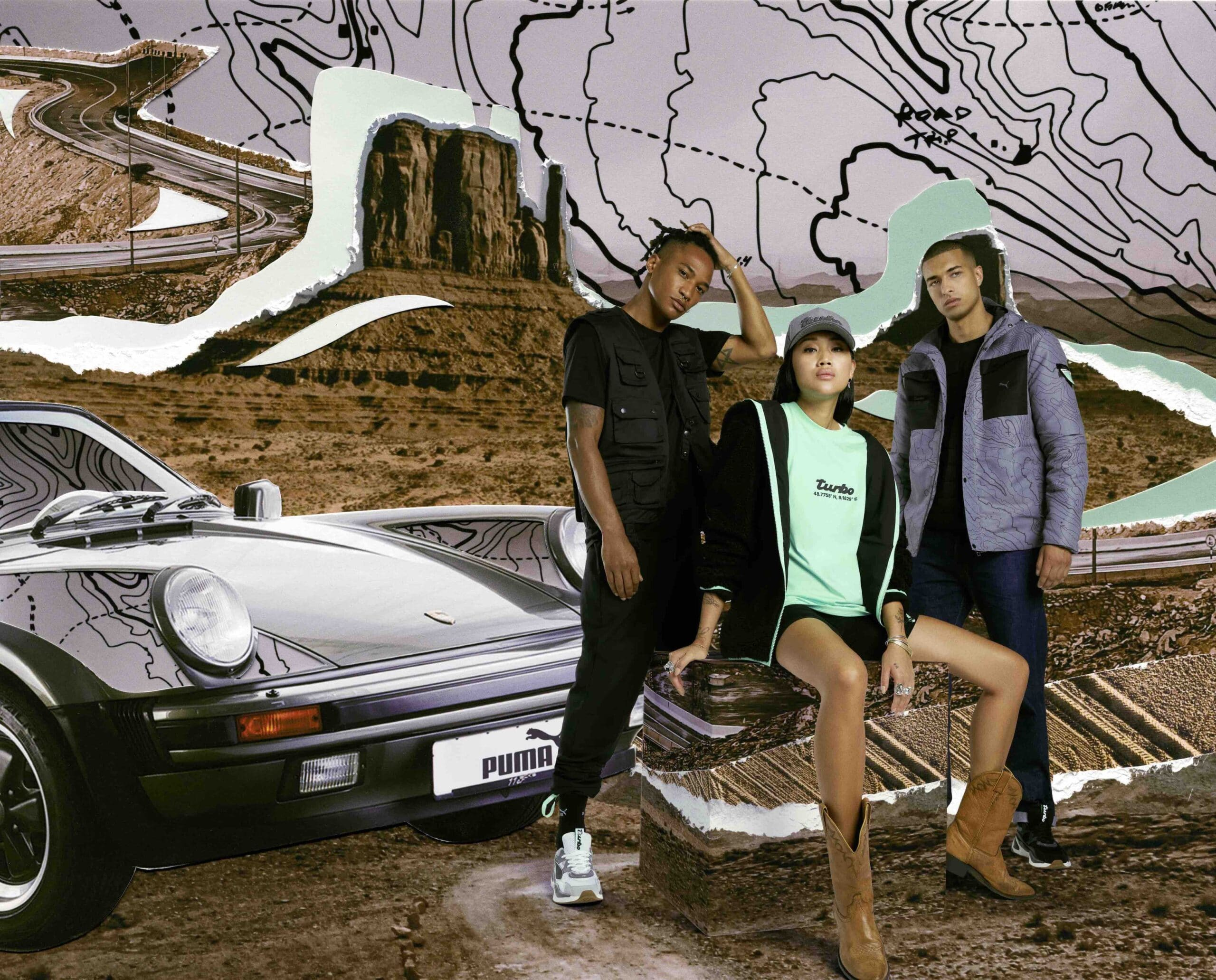 Puma Spreads Road Trip Flair With Porsche Legacy Autumn / Winter Collection
