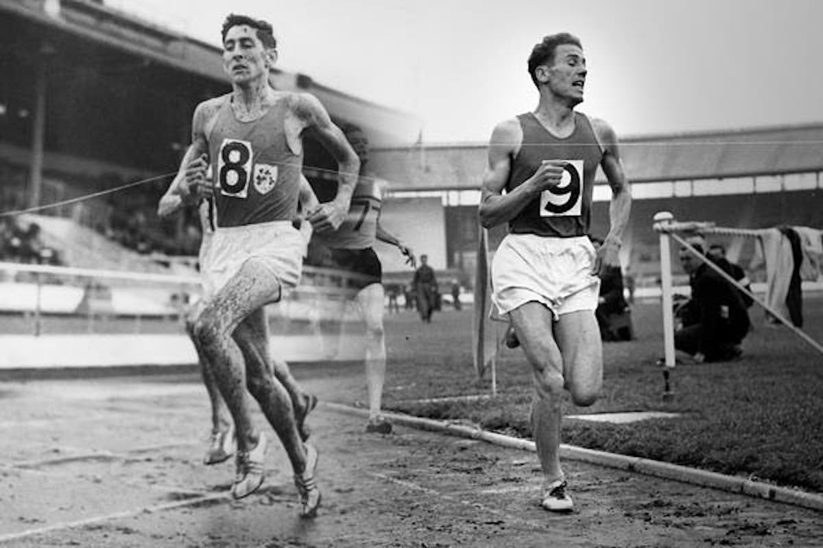 Ron Delany and Hungarys late Laszlo Tabori 1
