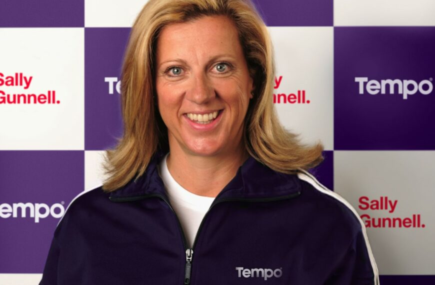 Sally Gunnell Joins Tempo, The First Sports Nutrition Brand Dedicated To Active Over 50s