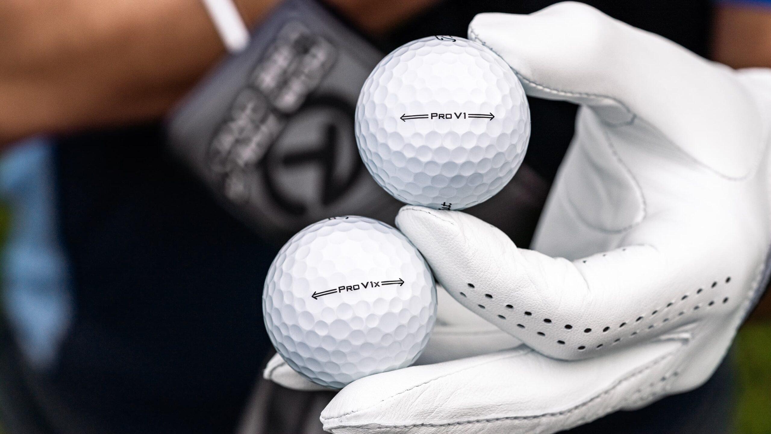 Titleist Pro V1 and Pro V1x Golf Balls