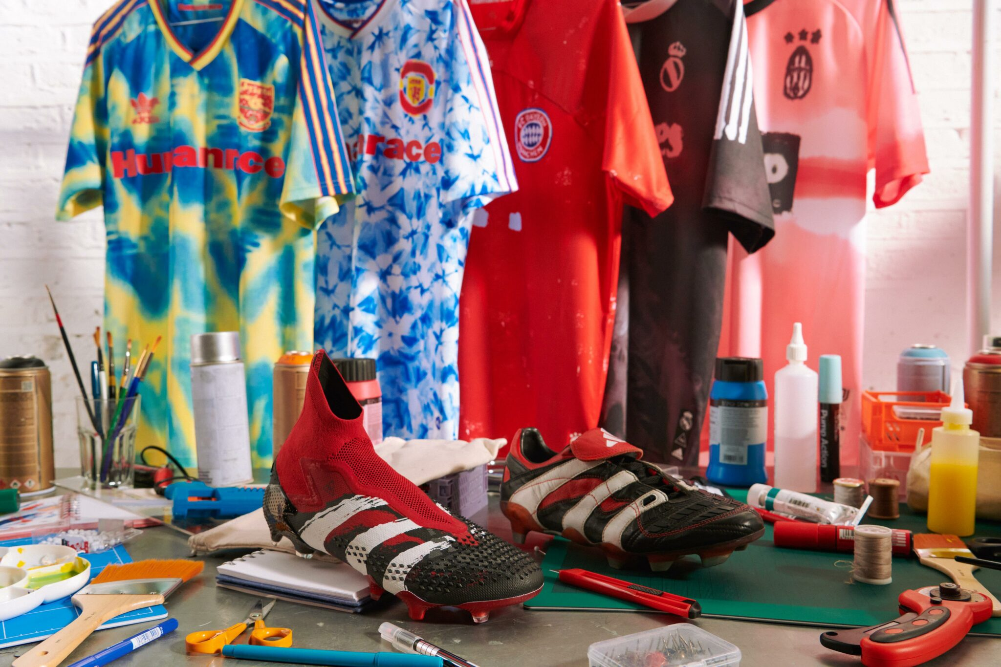 What is the Humanrace Adidas Football Collection