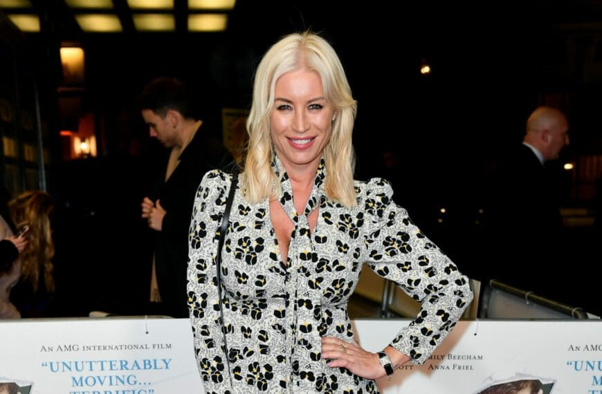 Denise Van Outen: 'Growing Older Has Made Me More Aware Of Looking After Myself'