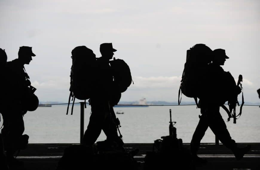 5 Ways To Get Military Fit