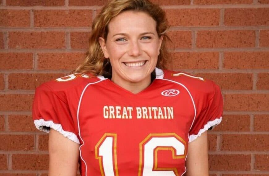 Britain's First-Ever NFL Coach Tells Us Why American Football Is A Great Sport For Women