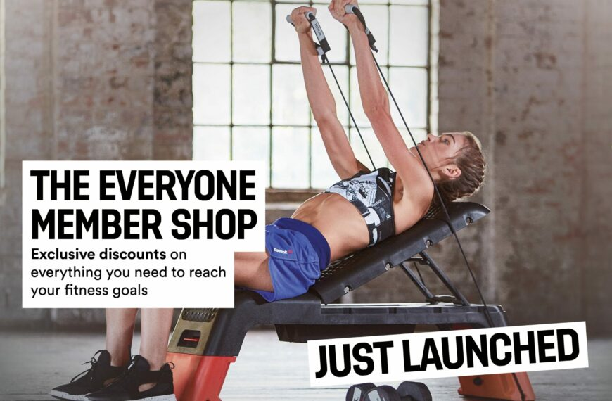 Everyone Active Launches Online Shop In Time For Lockdown 2.0