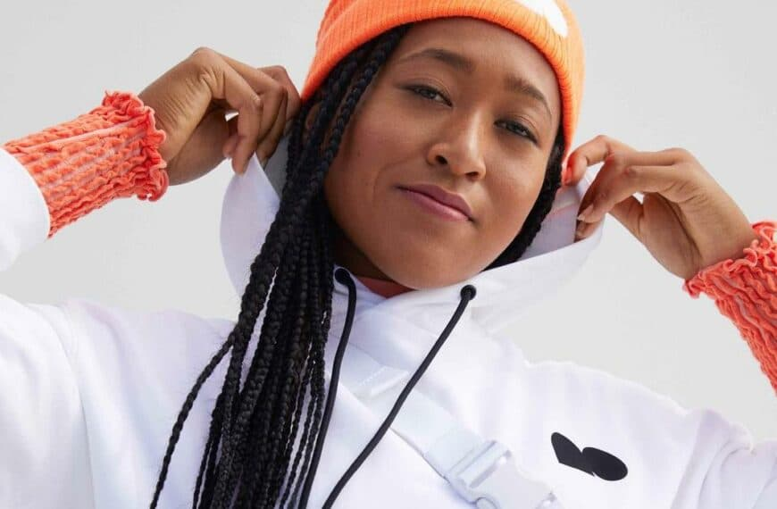 Naomi Osaka's Apparel Collection Features Her New Logo