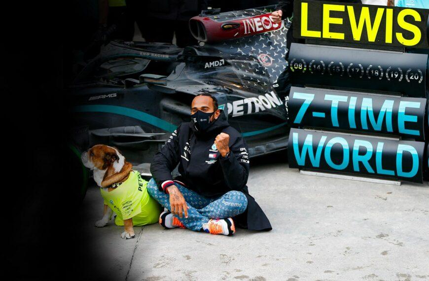PUMA and Lewis Hamilton Celebrate 7 World Champion Titles And 7 Years Of Partnership