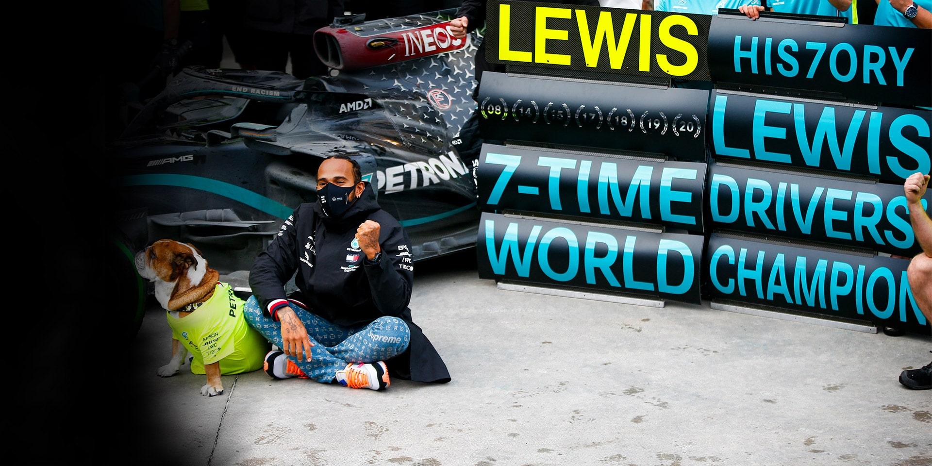 PUMA and Lewis Hamilton Celebrate 7 World Champion Titles