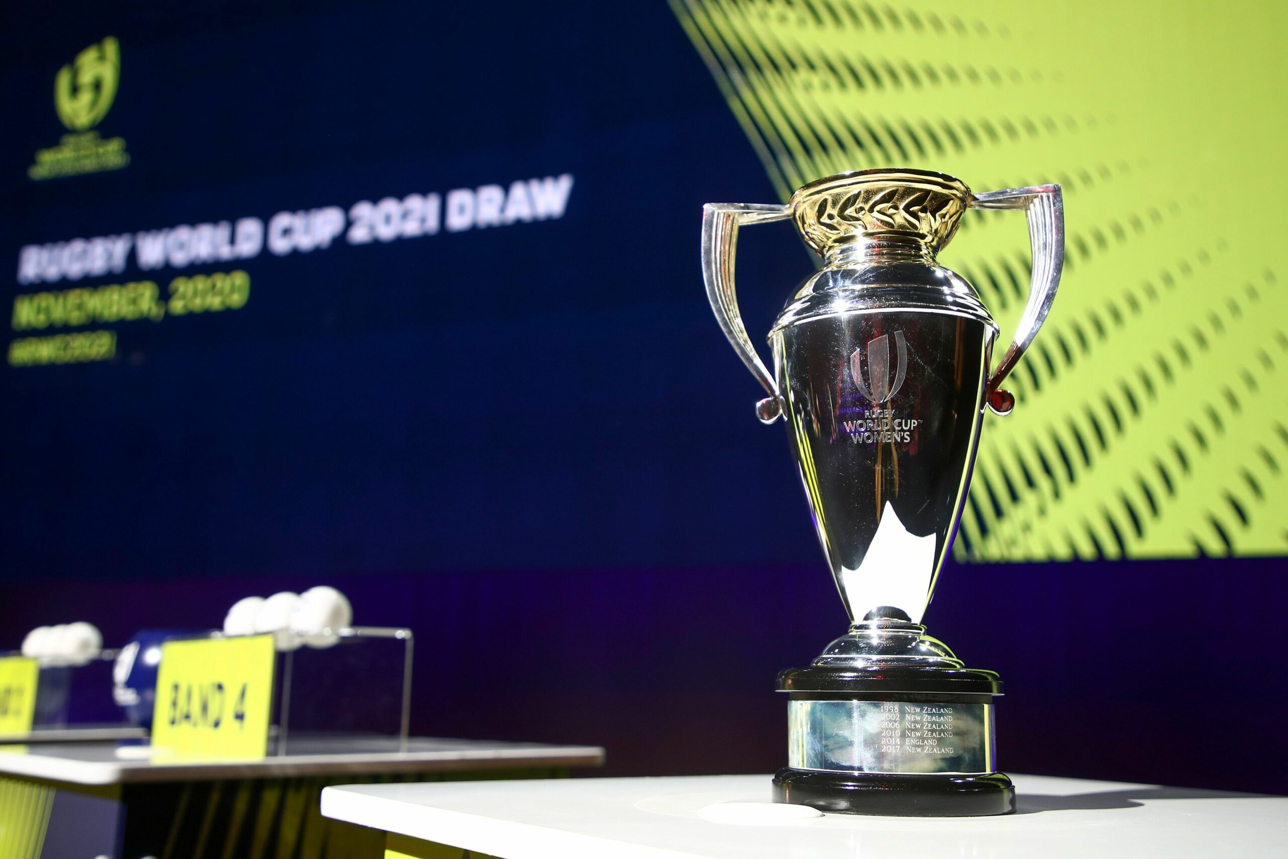 Rugby World Cup 2021 Pools Confirmed