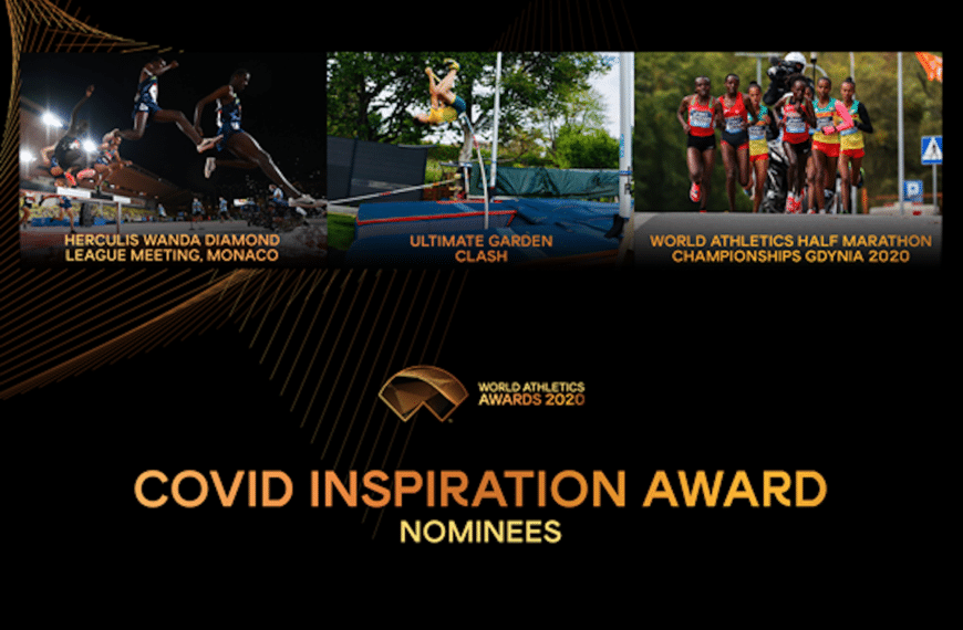 Nominees Announced For Athletics Covid Inspiration Award