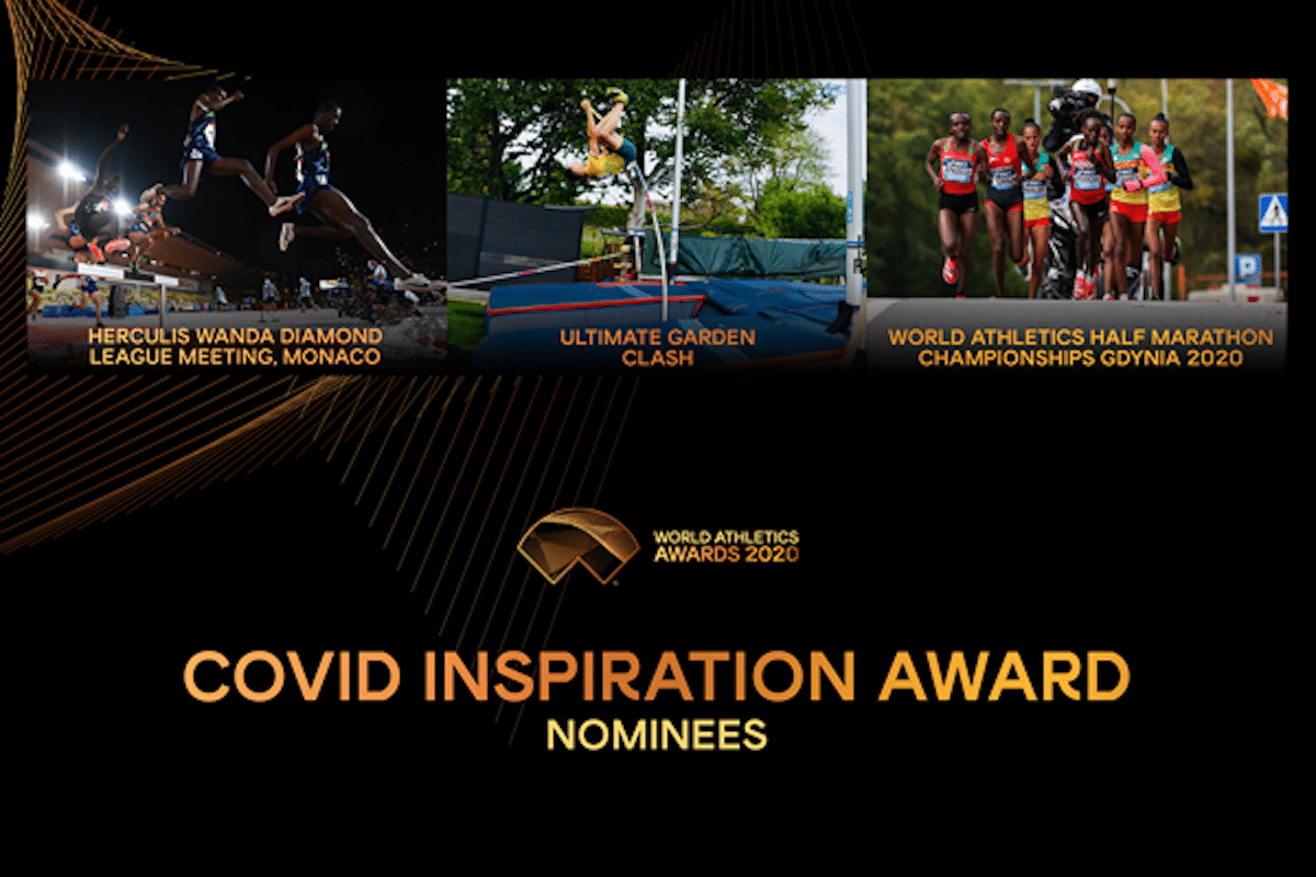 Who are the Nominees For Athletics Covid Inspiration Award
