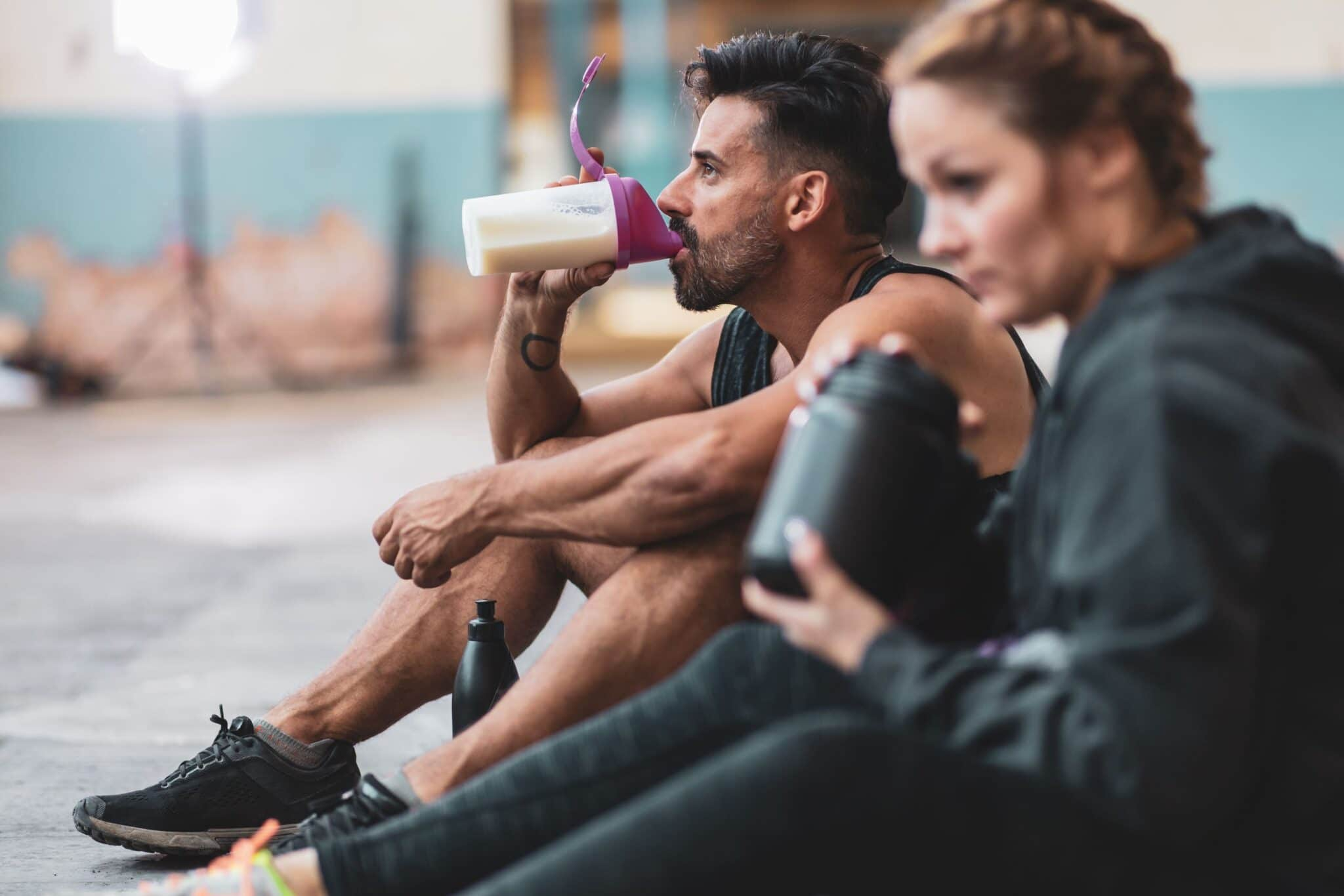 do Protein Shakes aid recovery