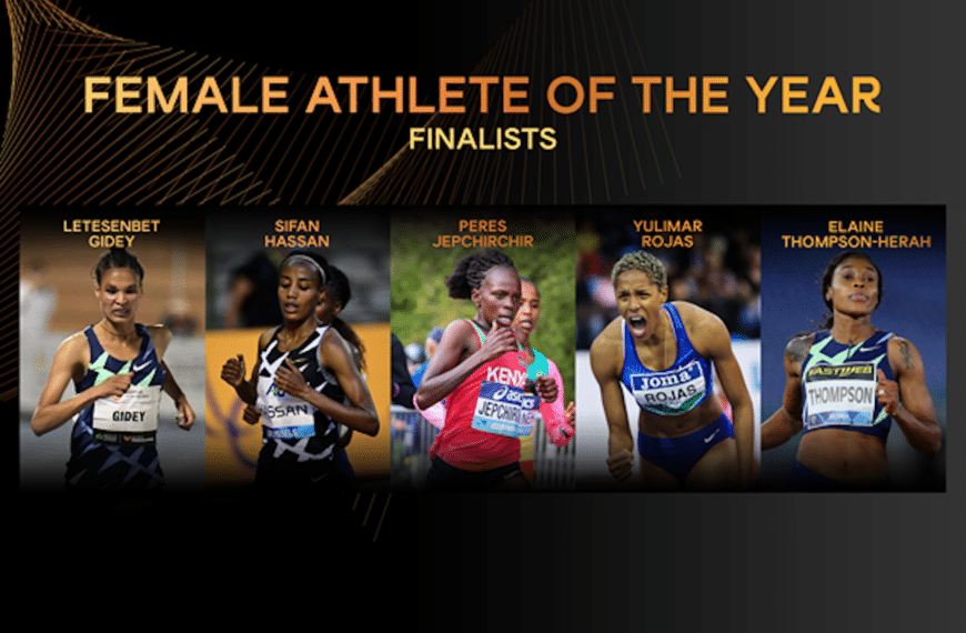 Finalists Announced For Female World Athlete Of The Year 2020
