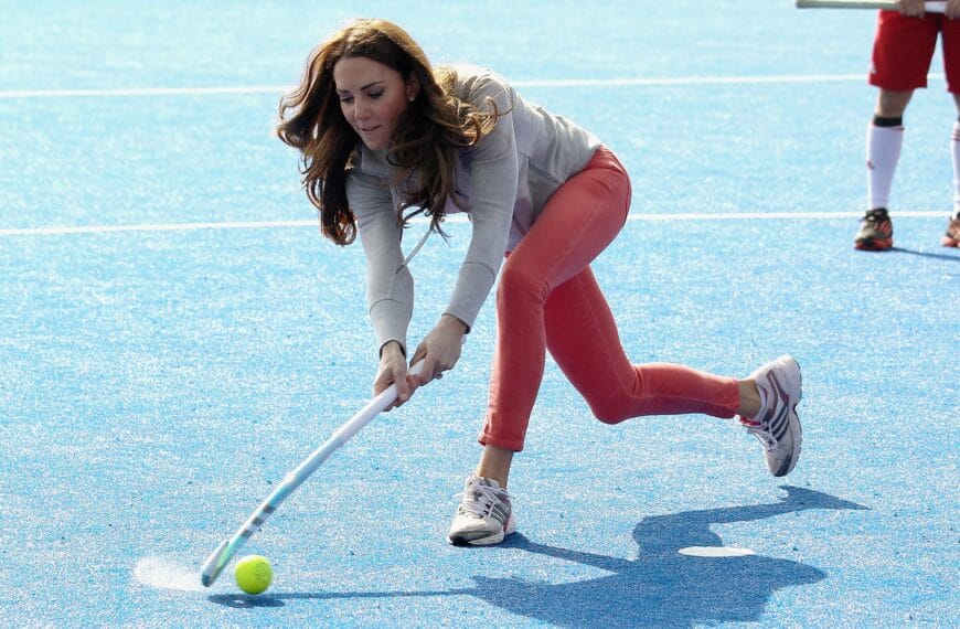 Hockey: 5 Reasons Why Playing Kate's Favourite Sport Is Good For Your Body