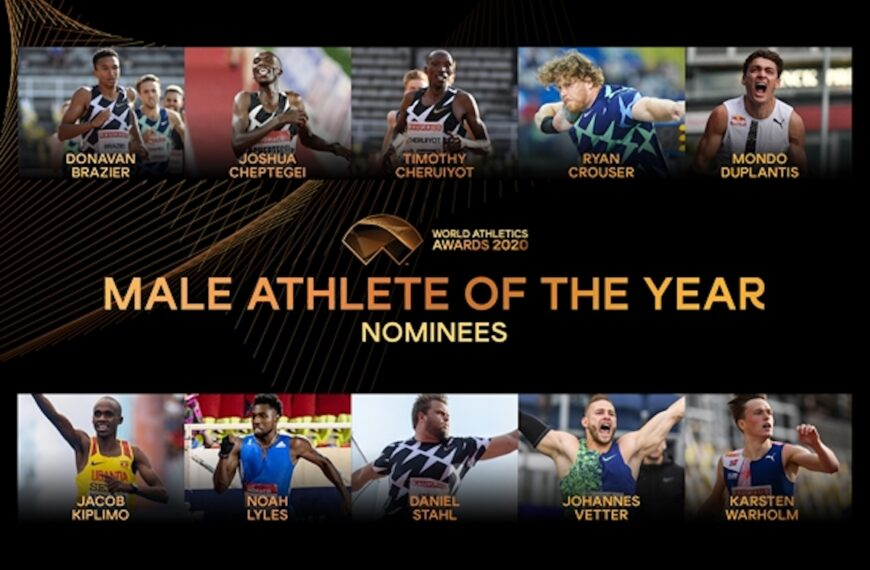 Nominees Announced For Male World Athlete of the Year 2020